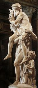 Eneas y Anquises. Bernini