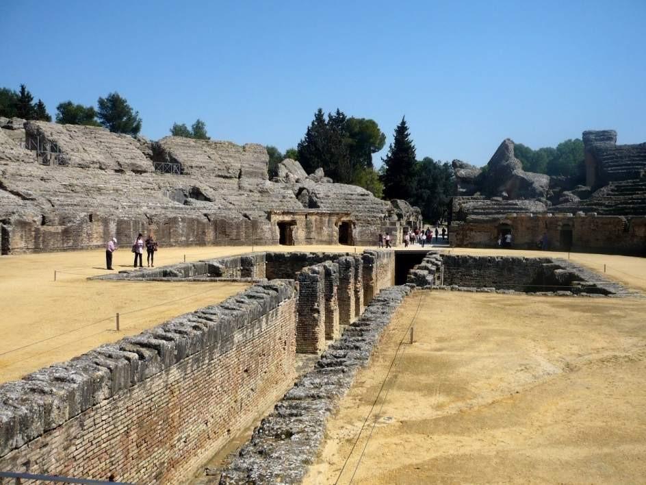 Página web en construcción de Itálica Patrimonio mundial